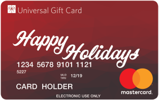 MasterCard Christmas Cards-redNumbers